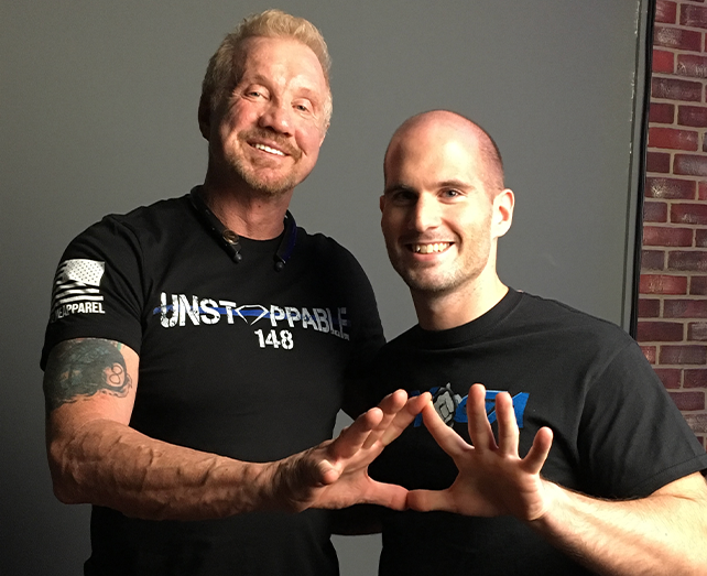 Adam Bockler With Diamond Dallas Page